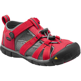 Keen Seacamp II CNX Sandals Kinder racing red/gargoyle